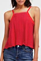 Free People Red Anna Tank