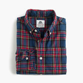 Thomas Mason Boys' for crewcuts flannel Ludlow shirt