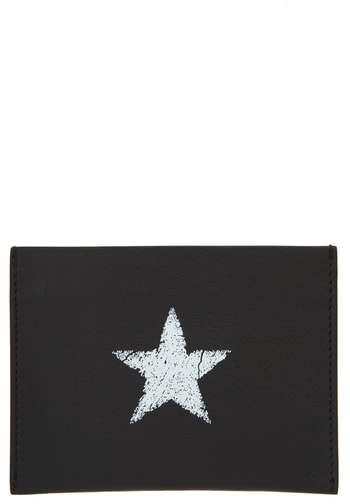 Givenchy Blurred Star Leather Card Holder