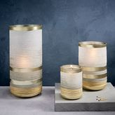 Frosted Sand Candleholders + Vases