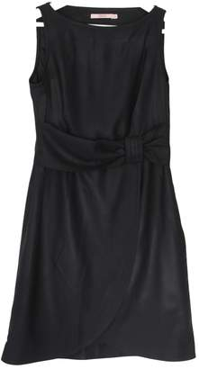 RED Valentino Black Wool Dress for Women