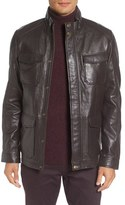 Ted Baker Force Leather Jacket