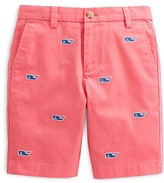 Vineyard Vines Boys' Whale Embroidery Breaker Shorts - Sizes 2-18