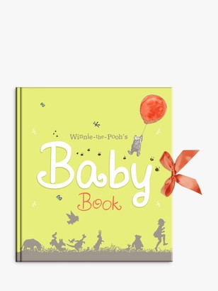 Rainbow Designs Winnie The Pooh Baby Days Record Book