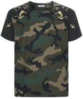 Valentino Camouflage Panther T-shirt