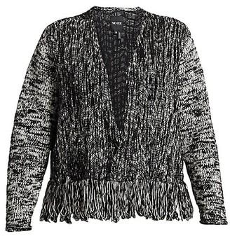 NIC+ZOE, Plus Size Fringe Worthy Jacket
