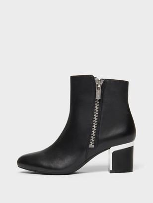 DKNY Women's Crosbi Ankle Bootie - Black - Size 8.5