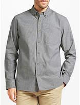 John Lewis Slub Micro Check Shirt
