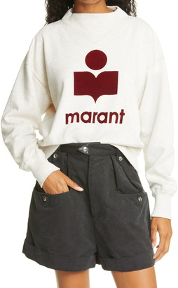 Isabel Marant Atoile Isabel Marant Moby Graphic Sweatshirt