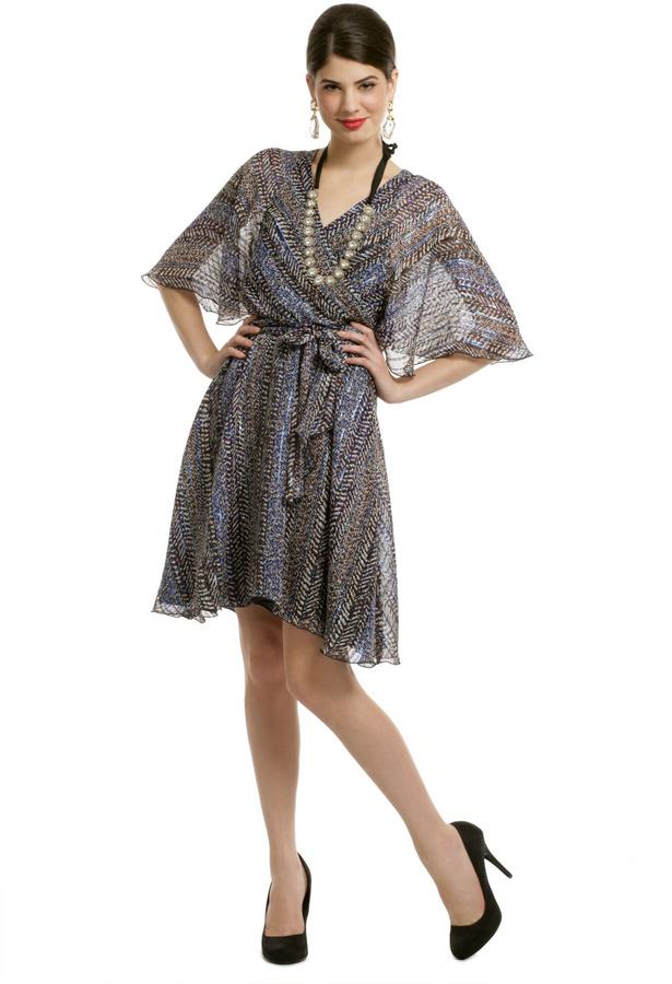 Anna Sui Electric Flutter Dress