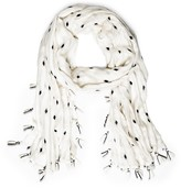 Sole Society geo print Scarf with tassels