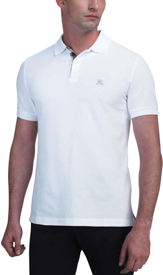 Burberry Modern-Fit Logo Polo
