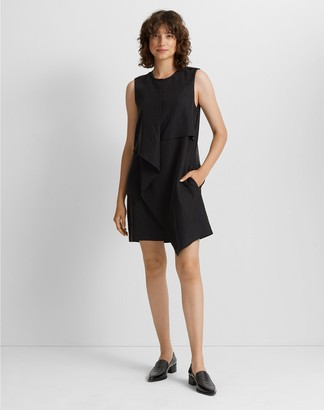 Club Monaco Drape Front Dress