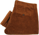 Ami Trousers Seamless Corduroy Chinos H16T09 86 201 Cognac