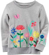 Carter's Long Sleeve Sweatshirt - Toddler Girls