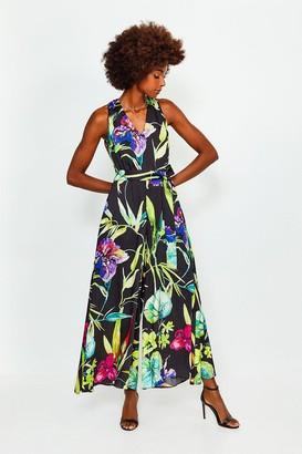 Karen Millen Floral Printed Jumpsuit