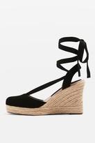Topshop WAVES Espadrille Wedge Heels Sandals