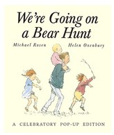 Simon & Schuster We're Going On A Bear Hunt: A Celebratory Pop-up Edition By Michael Rosen And Helen Oxenbury.