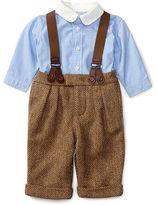 Ralph Lauren Shirt, Pant & Braces Set