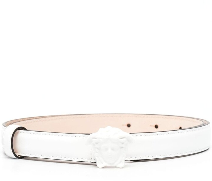 Thumbnail for your product : Versace Medusa leather belt