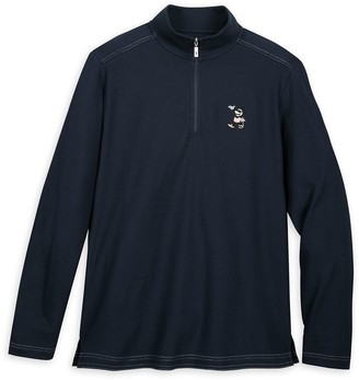 Disney Mickey Mouse Long Sleeve Pullover for Men by Tommy Bahama Navy