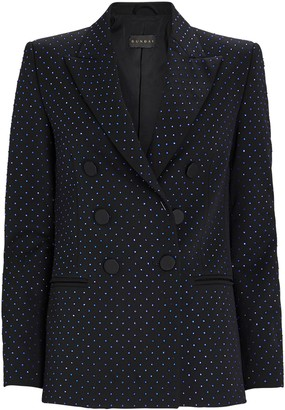 Dundas Embellished Double-Breasted Blazer