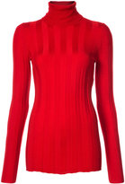 Derek Lam Long Sleeve Ribbed Turtleneck