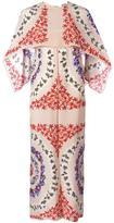 MSGM geometric print shift dress - women - Silk - 40
