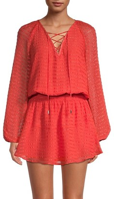 Ramy Brook Greta Blouson Dress