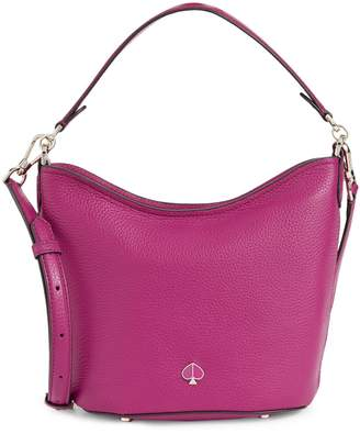 Kate Spade Mini Polly Leather Hobo Bag