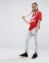 adidas X Pharrell Williams Gray Three Stripe Cuffed Sweat Pants