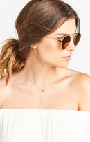 MUMU Crap Eyewear ~ The Tuff Safari ~ Brushed Gold with Bronze Mirror Lenses