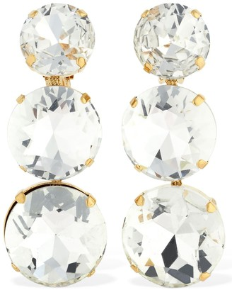 Ca&Lou Isabella Clip-on Earrings W/crystals