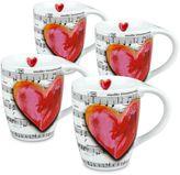 Konitz Love Song Mugs (Set of 4)