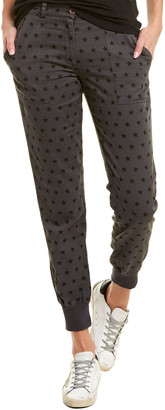 Monrow Woven Cuff Pant