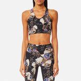 Lucas Hugh Women's Erte Sports Bra Black Print