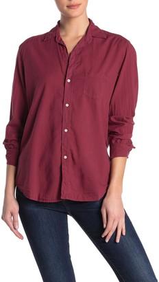 Frank And Eileen Eileen Long Sleeve Woven Button Front Shirt