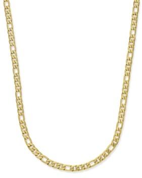 Sutton by Rhona Sutton Men's Gold-Tone Figaro Chain Necklace