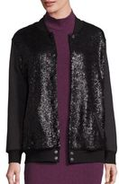 Splendid Sequined Bomber Jacket
