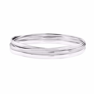 Auree Jewellery Knightsbridge Sterling Silver Russian Wedding Bangle