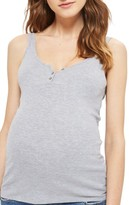 Topshop Women's Henley Maternity Tank
