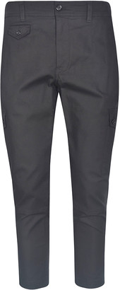 Dolce & Gabbana Flap Buttoned Pocket Trousers