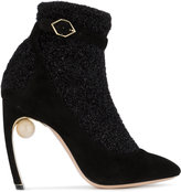 Nicholas Kirkwood Lola pump sock boots