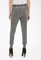 Forever 21 Contemporary Mineral Wash Sweatpants