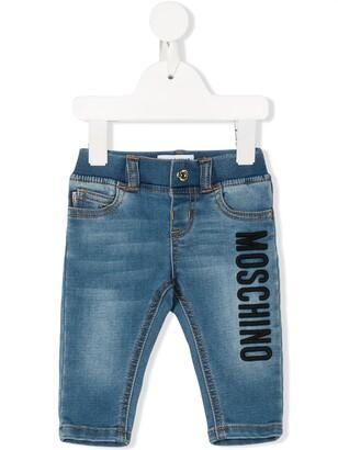 MOSCHINO BAMBINO Teddy Bear jeans