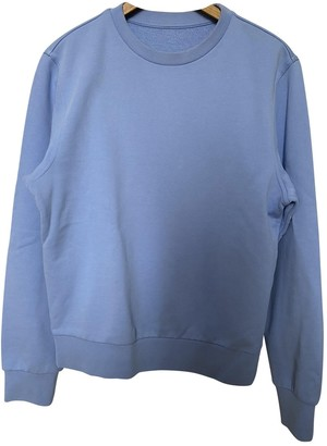 Maison Margiela Blue Cotton Knitwear & Sweatshirts