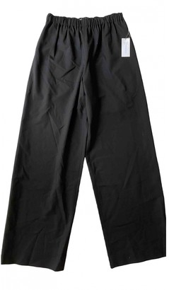 6397 Black Cloth Trousers