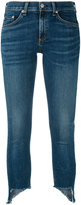 Rag & Bone asymmetric hem jeans - women - Cotton/Polyurethane - 25