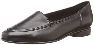 Gabor Women's Friday Ballet Flats, (Black Leather)