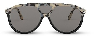 Persol 59MM Three-Lens Pilot Sunglasses